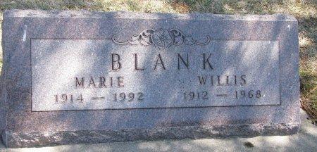 BRING BLANK, IDA MARIE - Burt County, Nebraska | IDA MARIE BRING BLANK - Nebraska Gravestone Photos