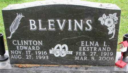 BLEVINS, ELNA L. - Burt County, Nebraska   ELNA L. BLEVINS - Nebraska Gravestone Photos