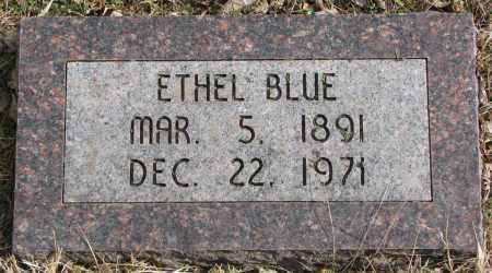 BLUE, ETHEL - Burt County, Nebraska | ETHEL BLUE - Nebraska Gravestone Photos