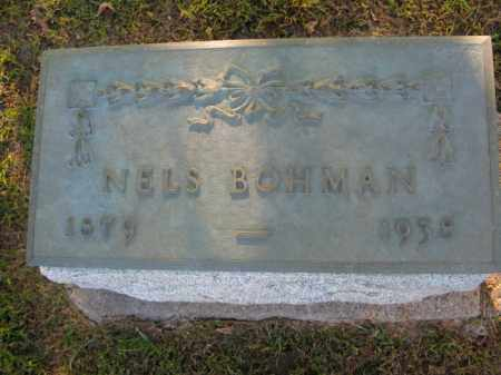 BOHMAN, NELS - Burt County, Nebraska   NELS BOHMAN - Nebraska Gravestone Photos