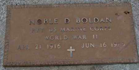 BOLDAN, NOBLE D. - Burt County, Nebraska | NOBLE D. BOLDAN - Nebraska Gravestone Photos