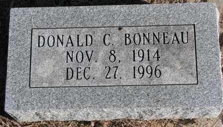 BONNEAU, DONALD C. - Burt County, Nebraska | DONALD C. BONNEAU - Nebraska Gravestone Photos