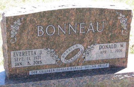 BONNEAU, EVERETTA J. - Burt County, Nebraska | EVERETTA J. BONNEAU - Nebraska Gravestone Photos