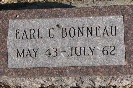 BONNEAU, EARL C. - Burt County, Nebraska | EARL C. BONNEAU - Nebraska Gravestone Photos