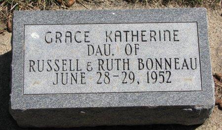 BONNEAU, GRACE KATHERINE - Burt County, Nebraska | GRACE KATHERINE BONNEAU - Nebraska Gravestone Photos