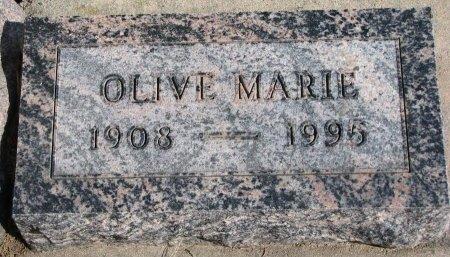 BONNEAU, OLIVE MARIE - Burt County, Nebraska   OLIVE MARIE BONNEAU - Nebraska Gravestone Photos