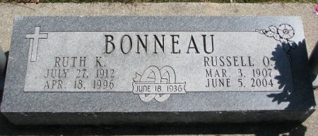 EPPERSON BONNEAU, RUTH KATHERINE SUZANNE  - Burt County, Nebraska | RUTH KATHERINE SUZANNE  EPPERSON BONNEAU - Nebraska Gravestone Photos