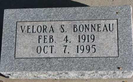 BONNEAU, VELORA S. - Burt County, Nebraska   VELORA S. BONNEAU - Nebraska Gravestone Photos