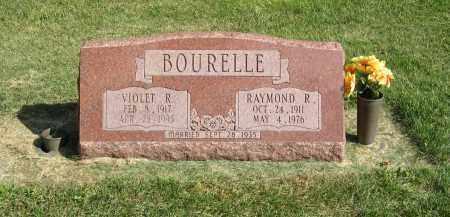 BOURELLE, VIOLET R. - Burt County, Nebraska | VIOLET R. BOURELLE - Nebraska Gravestone Photos