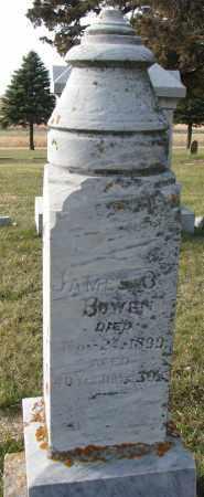 BOWEN, JAMES - Burt County, Nebraska   JAMES BOWEN - Nebraska Gravestone Photos