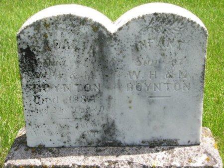BOYNTON, INFANT SON - Burt County, Nebraska | INFANT SON BOYNTON - Nebraska Gravestone Photos