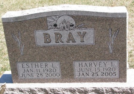 BRAY, ESTHER L. - Burt County, Nebraska | ESTHER L. BRAY - Nebraska Gravestone Photos