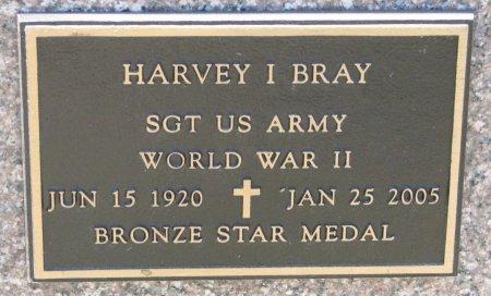BRAY, HARVEY ISAIAH (MILITARY) - Burt County, Nebraska | HARVEY ISAIAH (MILITARY) BRAY - Nebraska Gravestone Photos