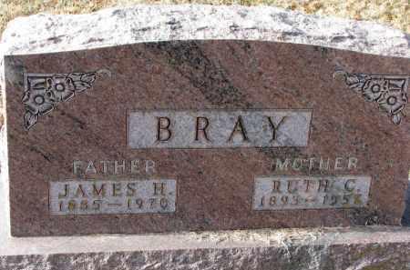 BRAY, JAMES H. - Burt County, Nebraska | JAMES H. BRAY - Nebraska Gravestone Photos