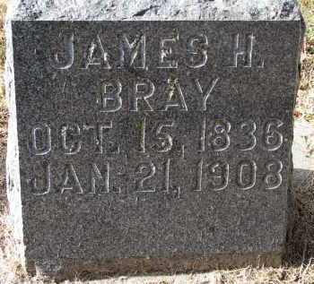 BRAY, JAMES H. - Burt County, Nebraska   JAMES H. BRAY - Nebraska Gravestone Photos