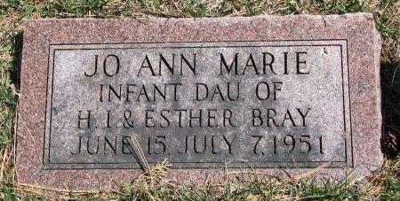 BRAY, JO ANN MARIE - Burt County, Nebraska   JO ANN MARIE BRAY - Nebraska Gravestone Photos