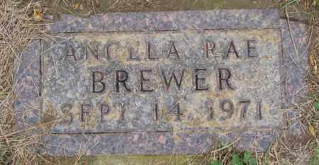 BREWER, ANGELA RAE - Burt County, Nebraska | ANGELA RAE BREWER - Nebraska Gravestone Photos