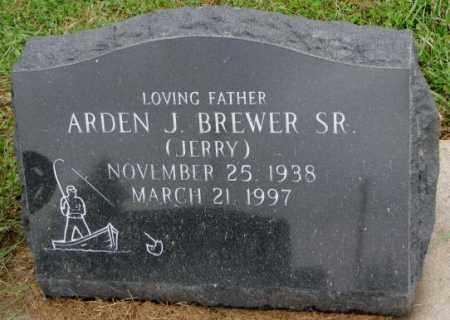 BREWER, ARDEN J. SR. - Burt County, Nebraska   ARDEN J. SR. BREWER - Nebraska Gravestone Photos