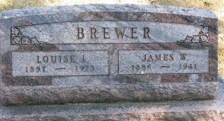 BREWER, JAMES W. - Burt County, Nebraska   JAMES W. BREWER - Nebraska Gravestone Photos