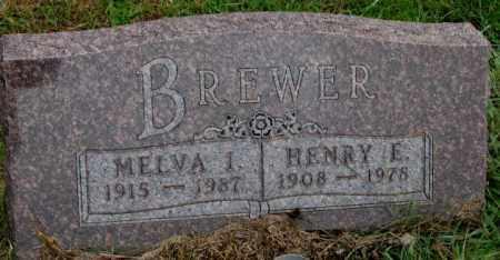 BREWER, HENRY E. - Burt County, Nebraska | HENRY E. BREWER - Nebraska Gravestone Photos
