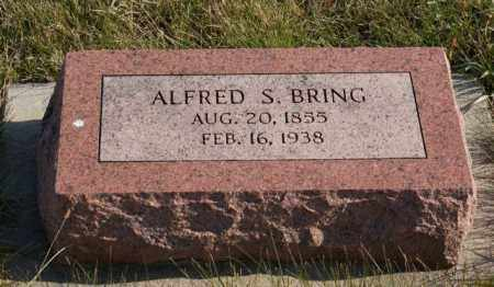 BRING, ALFRED S. - Burt County, Nebraska | ALFRED S. BRING - Nebraska Gravestone Photos