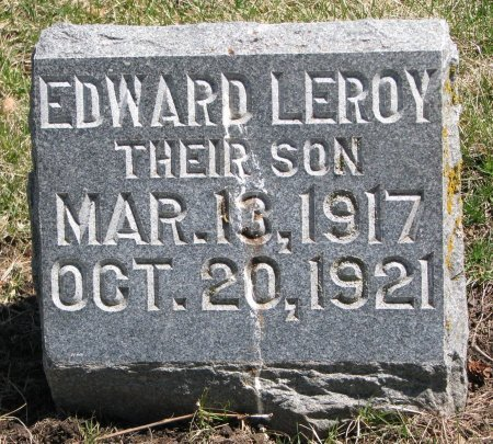 BRING, EDWARD LEROY - Burt County, Nebraska | EDWARD LEROY BRING - Nebraska Gravestone Photos