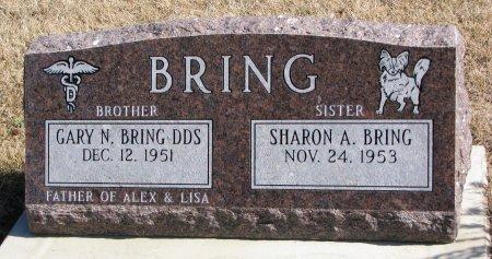 BRING, SHARON A. - Burt County, Nebraska | SHARON A. BRING - Nebraska Gravestone Photos