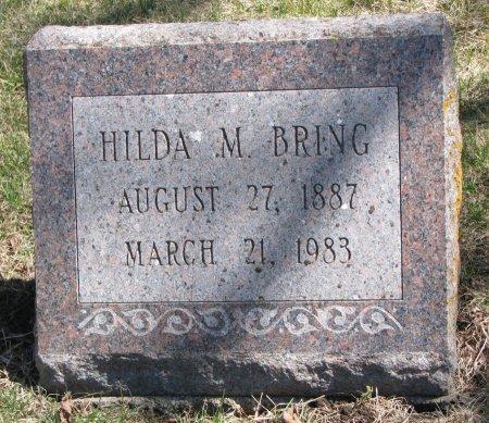 BRING, HILDA M. - Burt County, Nebraska | HILDA M. BRING - Nebraska Gravestone Photos