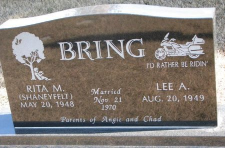 BRING, RITA M. - Burt County, Nebraska | RITA M. BRING - Nebraska Gravestone Photos