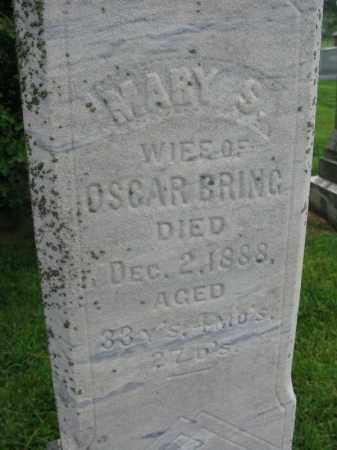 BRING, MARY S. - Burt County, Nebraska | MARY S. BRING - Nebraska Gravestone Photos