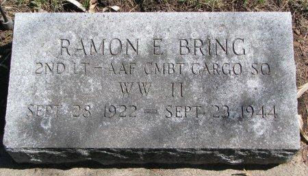 BRING, RAMON E. - Burt County, Nebraska | RAMON E. BRING - Nebraska Gravestone Photos