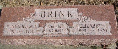 BRINK, ROBERT M. - Burt County, Nebraska | ROBERT M. BRINK - Nebraska Gravestone Photos