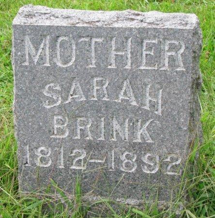 BRINK, SARAH - Burt County, Nebraska | SARAH BRINK - Nebraska Gravestone Photos