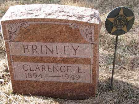 BRINLEY, CLARENCE E. - Burt County, Nebraska   CLARENCE E. BRINLEY - Nebraska Gravestone Photos