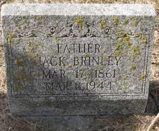 BRINLEY, JACK - Burt County, Nebraska | JACK BRINLEY - Nebraska Gravestone Photos