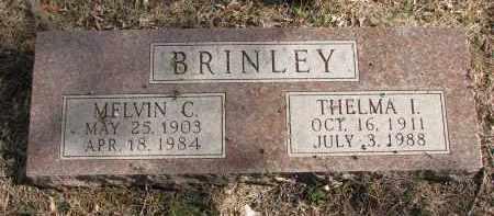 BRINLEY, THELMA I. - Burt County, Nebraska | THELMA I. BRINLEY - Nebraska Gravestone Photos