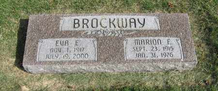 BROCKWAY, MARION F. - Burt County, Nebraska   MARION F. BROCKWAY - Nebraska Gravestone Photos