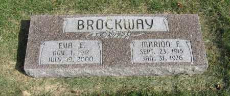 BROCKWAY, EVA E. - Burt County, Nebraska | EVA E. BROCKWAY - Nebraska Gravestone Photos