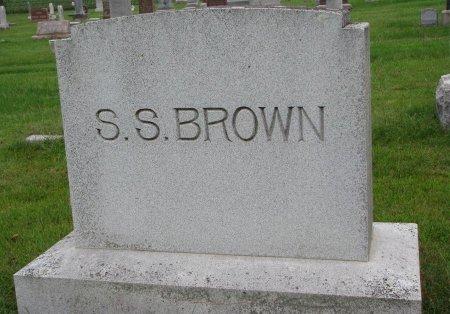 BROWN, *FAMILY MONUMENT - Burt County, Nebraska | *FAMILY MONUMENT BROWN - Nebraska Gravestone Photos