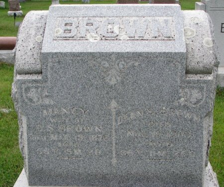 BROWN, NANCY - Burt County, Nebraska | NANCY BROWN - Nebraska Gravestone Photos