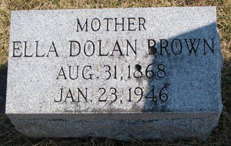 BROWN, ELLA - Burt County, Nebraska | ELLA BROWN - Nebraska Gravestone Photos