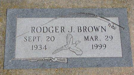 BROWN, RODGER J. - Burt County, Nebraska | RODGER J. BROWN - Nebraska Gravestone Photos