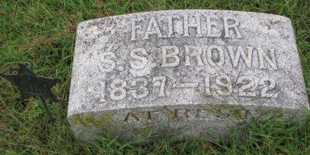 BROWN, SILAS SWIFT - Burt County, Nebraska | SILAS SWIFT BROWN - Nebraska Gravestone Photos