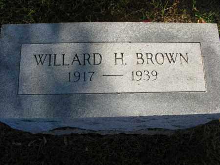 BROWN, WILLARD H. - Burt County, Nebraska | WILLARD H. BROWN - Nebraska Gravestone Photos