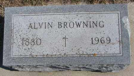 BROWNING, ALVIN - Burt County, Nebraska | ALVIN BROWNING - Nebraska Gravestone Photos