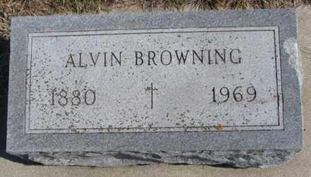 BROWNING, ALVIN - Burt County, Nebraska | ALVIN BROWNING - Nebraska Gravestone Photos