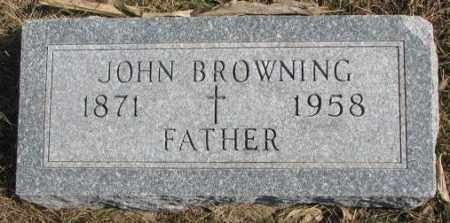 BROWNING, JOHN - Burt County, Nebraska   JOHN BROWNING - Nebraska Gravestone Photos