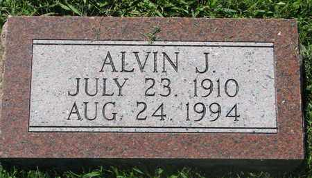 BRUCE, ALVIN J. - Burt County, Nebraska   ALVIN J. BRUCE - Nebraska Gravestone Photos