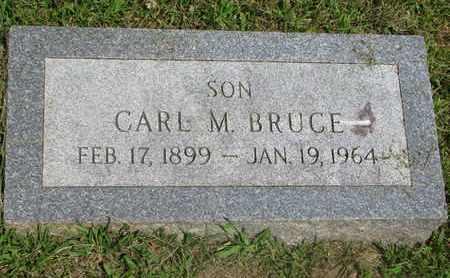 BRUCE, CARL M. - Burt County, Nebraska | CARL M. BRUCE - Nebraska Gravestone Photos