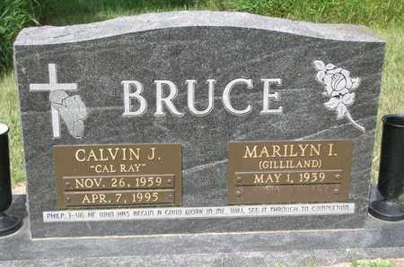 BRUCE, MARILYN I. - Burt County, Nebraska | MARILYN I. BRUCE - Nebraska Gravestone Photos
